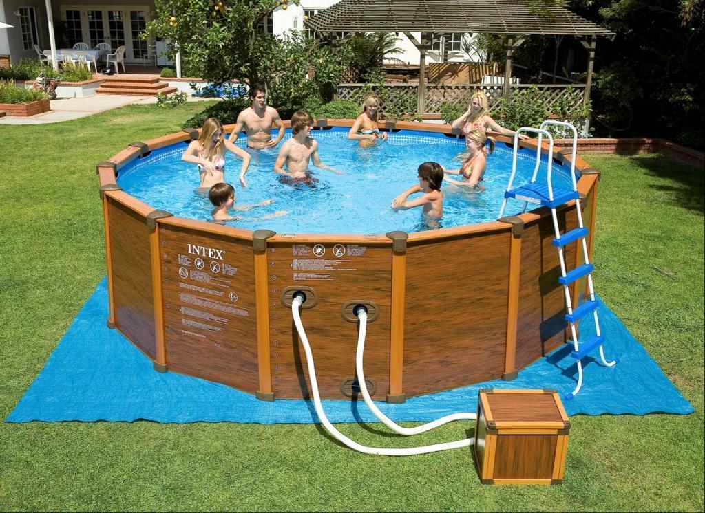 Каркас для надувного бассейна