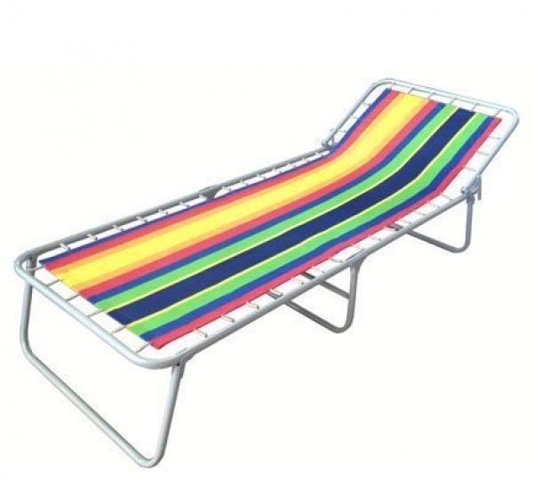 Кресло раскладушку с матрасом  магазине